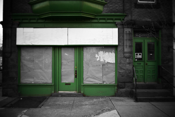 Green Doors---Pottstown, PA