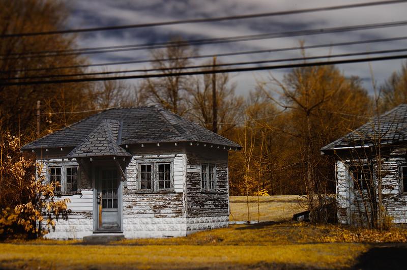 Roadside Cabins (Digital Infrared)