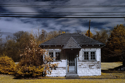 Roadside Cabin (Digital Infrared)