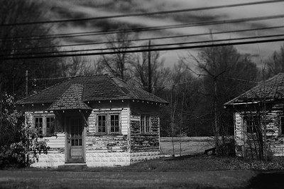 Roadside Cabins (Digital Infrared)