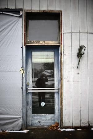 Door (selfie)–––Columbia, NJ