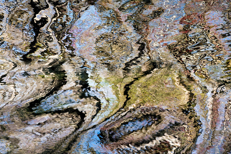 Ripples Abstract