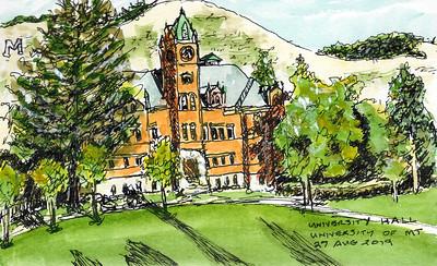 University Hall - University of Montana