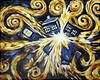 Dr.Who, acrylic by Kari Dickinson 12/28/2014