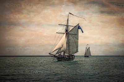 Tall Ships Festival: Digitally Altered