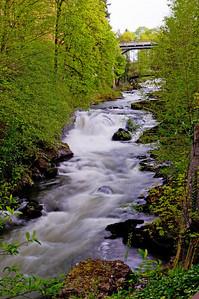 Tumwater Falls WA