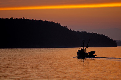 Fishing Boat, San Juan Islands