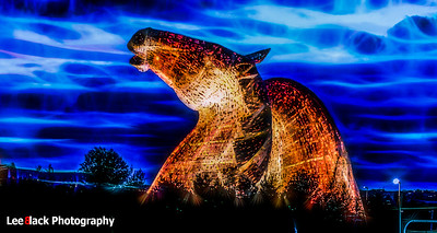 The Kelpies...