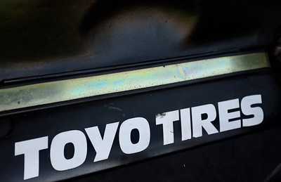 Toyo Tires Sticker