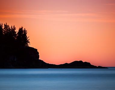 Sunrise at Acadia (Sand Beach)