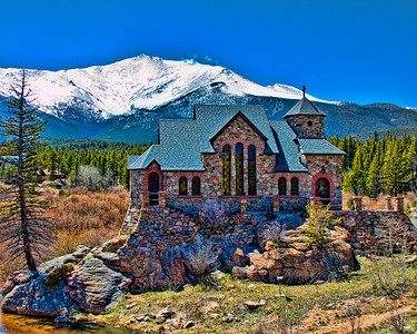 Chapel on the Rock, Scenic Hwy 7, Allenspark, CO in Rocky Mountain National Park  http://goo.gl/maps/xN9Sd