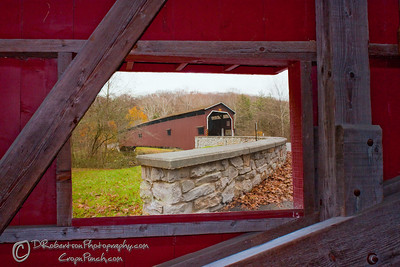 Bridge Within the Bridge  (Two photos merged in PSE)