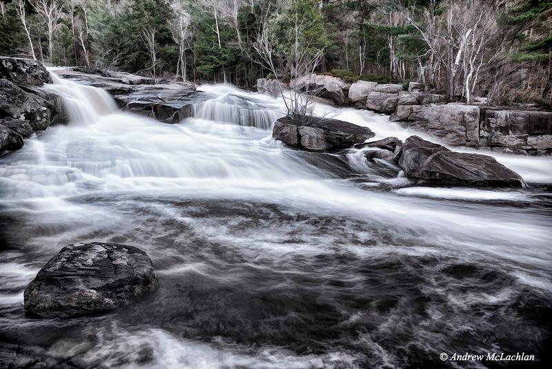 Lower Rosseau Falls, Muskoka, Ontario