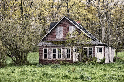 Abandoned home on the Bruce Peninsula, Ontario, Canada