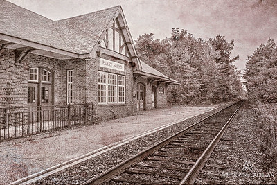 Abandoned Train Station, Parry Sound, Ontario