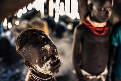 """Young boy, Kara village, Omo valley, Ethiopia, 2011"". 40x60 (100€), 50x75 (150€)."