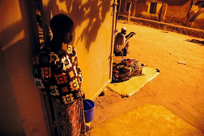"""Bamako, Mali, late afternoon, I, 2009"", 40x60 (100€), 50x75 (150€)"