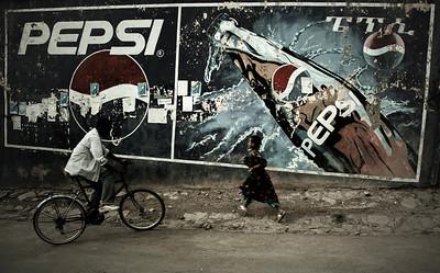 """Street scene, late afternoon, N.Ethiopia, 2011"". 30x48 (75€), 40x64 (100€), 50x80 (150€)"