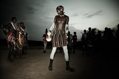 """""""Evangali dance, Omo Valley, S.Ethiopia, 2011"""".  40x60 (120€), 50x75 (250€)"""