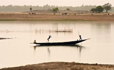"""Mali, Silhouettes, Niger river, II, 2009"". 30χ48 (90€), 40x64 (120€) & 50X80 (180€)"