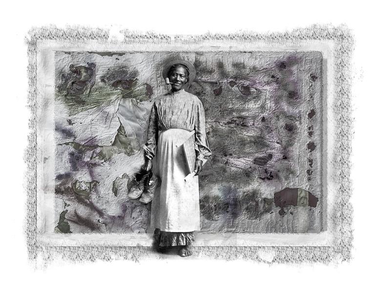 Negro woman w/pi[e