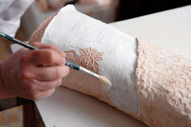 Marie Juge, sculpteur raku
