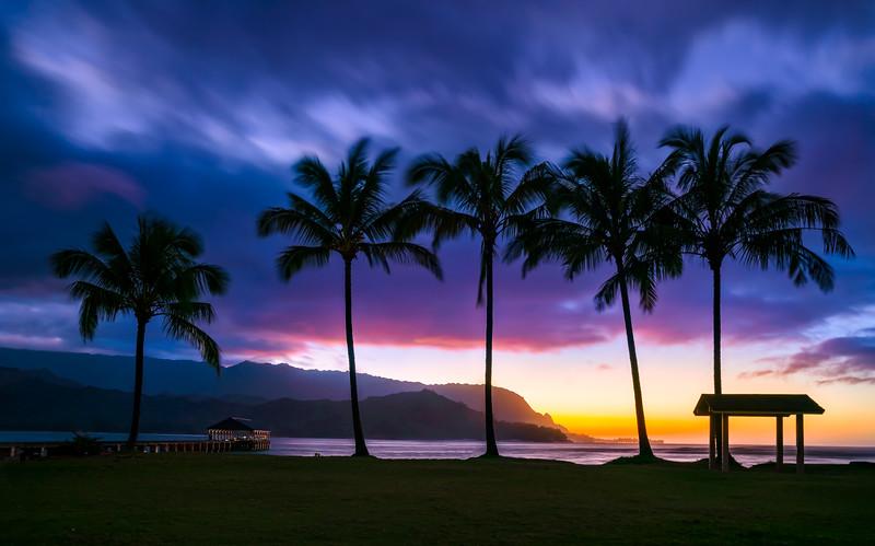 Hanalei Nights     Kauai Hawaii