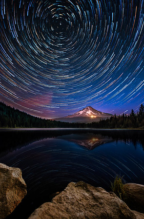 Trillium Starry Night  |  Mt Hood, Oregon