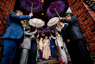 The princess & the parasols. On the way to marry her prince.                                                             @amrithadhatt and Adam @fitnesshalpers wedding