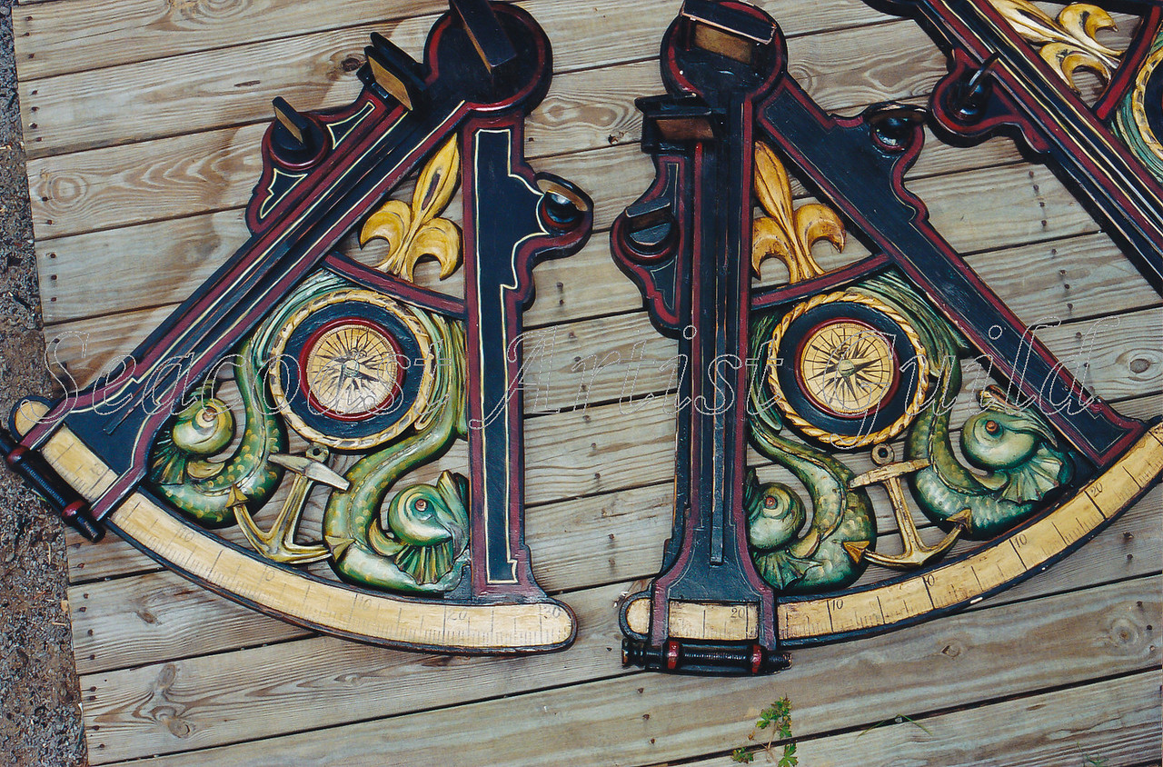 Contact: April Bensch<br /> Phone: 843-997-9917<br /> E-Mail: aprilbensch@sc.rr.com<br /> Side-by-side of original (center) and reproduction (left)