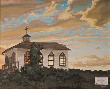 Name: The Chapel Medium: Acrylic Size:  Price: $215 Phone: 843-997-9917 Contact: April Bensch E-Mail: aprilbensch@sc.rr.com
