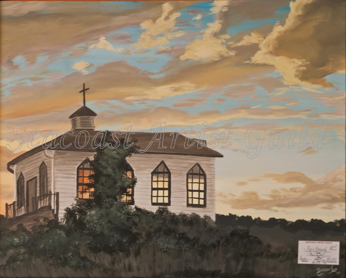 Name: The Chapel<br /> Medium: Acrylic<br /> Size: <br /> Price: $215<br /> Phone: 843-997-9917<br /> Contact: April Bensch<br /> E-Mail: aprilbensch@sc.rr.com