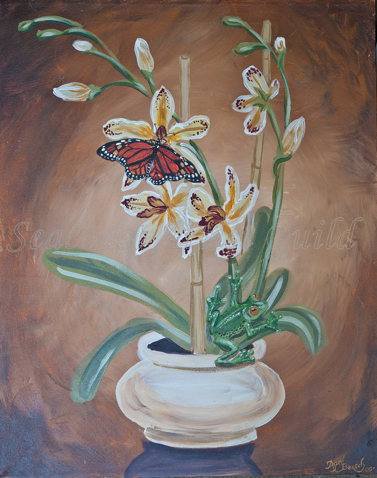 Name: Exotic Tastes<br /> Medium: Acrylic<br /> Size: <br /> Price: $57<br /> Phone: 843-997-9917<br /> Contact: April Bensch<br /> E-Mail: aprilbensch@sc.rr.com