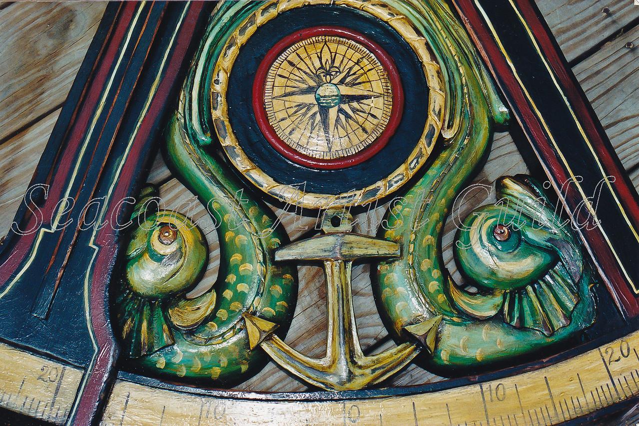 Contact: April Bensch<br /> Phone: 843-997-9917<br /> E-Mail: aprilbensch@sc.rr.com<br /> Reprodution of 18th century sextant