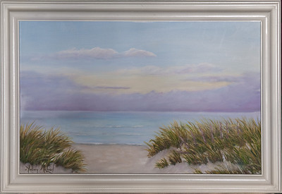 "Name: Summer Morning Medium: Oil Size: 11""X17"" Price: $175.00 Contact: Audrey McLeod E-Mail: riverartist@aol.com"
