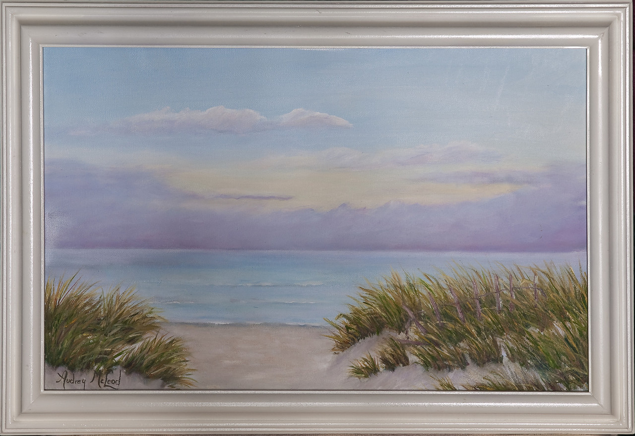 "Name: Summer Morning<br /> Medium: Oil<br /> Size: 11""X17""<br /> Price: $175.00<br /> Contact: Audrey McLeod<br /> E-Mail: riverartist@aol.com"