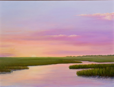 Name: Southern Sundown Medium: Oil Size: 18x24 Price: $575 Contact: Audrey McLeod E-Mail: riverartist@aol.com