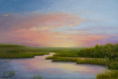 Name: Huntington Inspiration Medium: Oil Size: 24 X 36 Price: $875 Contact: Audrey McLeod  E-Mail: riverartist@aol.com