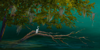 Name: Solitude Medium: Oil Size: 12 X 24 not including frame Price: $525 Contact: Audrey McLeod E-Mail: riverartist@aol.com