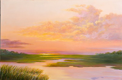 Name: Low Country Afternoon (SOLD) Medium: Oil Size: 20 X 30 Price: $750 Contact: Audrey McLeod E-Mail: riverartist@aol.com