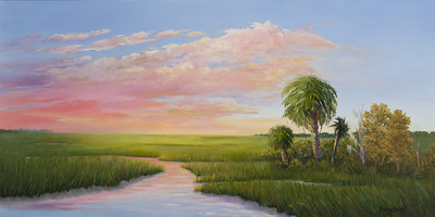 Name: Carolina Classic (SOLD) Medium: Oil Size: 18 X 36 Price: $700 Contact: Audrey McLeod E-Mail: riverartist@aol.com