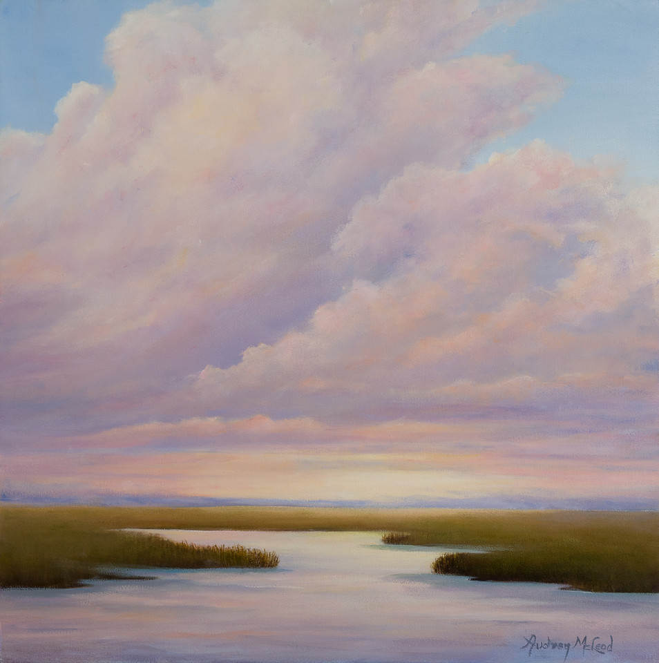 Name: Serenity<br /> Medium: Oil<br /> Size: 20 X 20<br /> Price: $400<br /> Contact: Audrey McLeod<br /> E-Mail: riverartist@aol.com