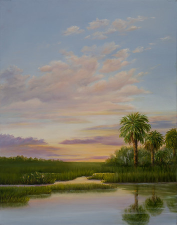 Name: Coastal Sunset (SOLD) Medium: Oil Size: 22 x 28 Price: $725 Contact: Audrey McLeod E-Mail: riverartist@aol.com