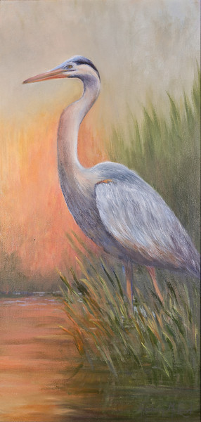 Name: Contemplation (SOLD) Medium: Oil Size: 12x24 Price: $275 Contact: Audrey McLeod E-Mail: riverartist@aol.com