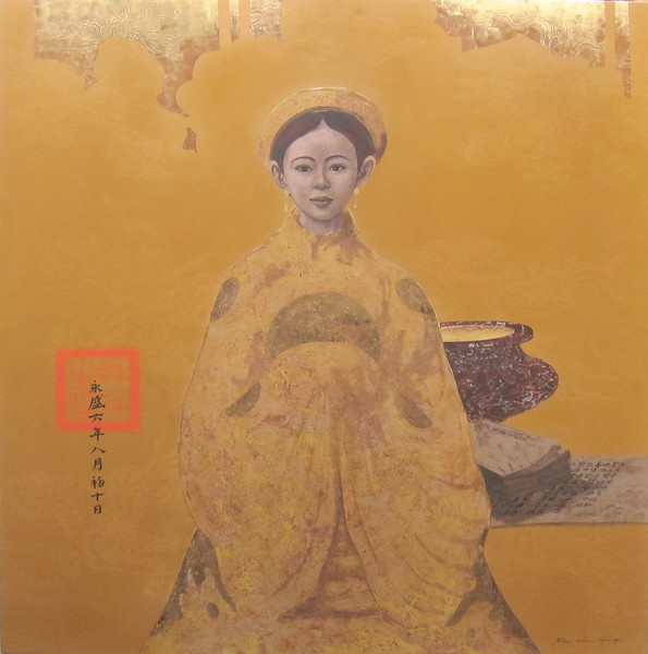 Bui Huu Hung - Young Royal with Incense