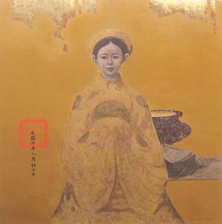 Bui Huu Hung - Young Royal with Incense