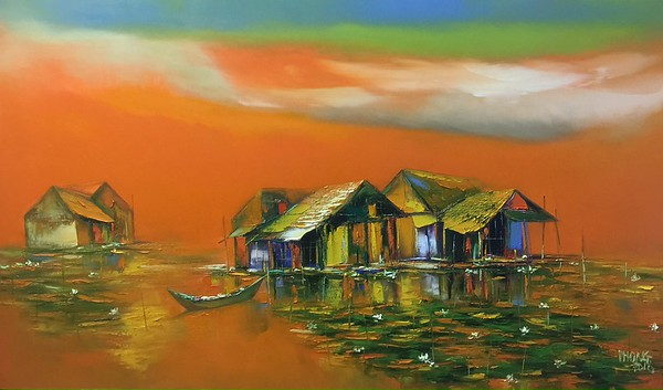 Dao Hai Phong - Sunset Lotus