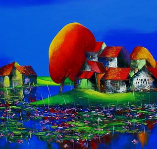 Dao Hai Phong - Lotus Pond