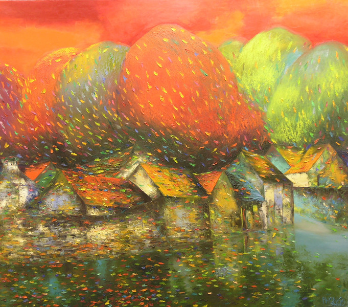 Dao Hai Phong - Enjoying the Fall