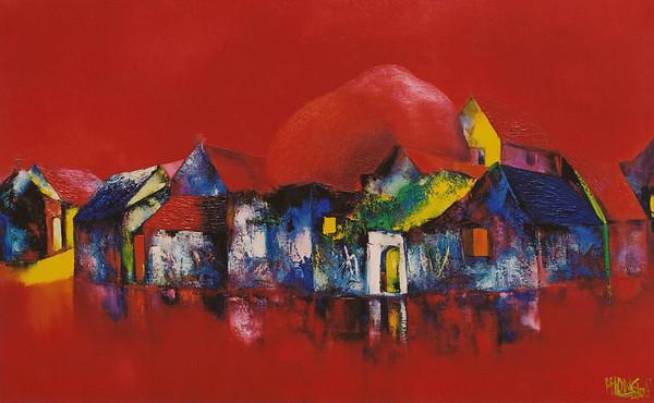 Dao Hai Phong - Red Sunset